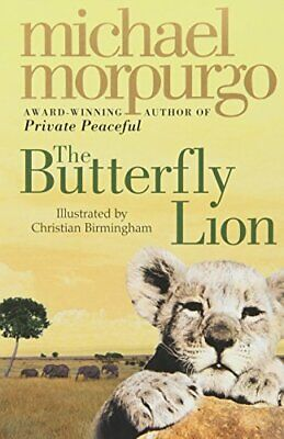 The Butterfly Lion by Morpurgo, Michael Paperback Book The Cheap Fast Free Post