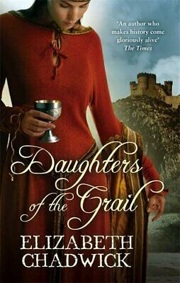 Daughters Of The Grail by Chadwick, Elizabeth Paperback Book The Cheap Fast Free