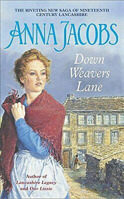 Down Weavers Lane by Jacobs, Anna Paperback Book The Cheap Fast Free Post