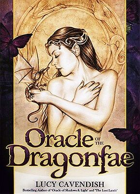 NEW Oracle of the Dragonfae Cards Deck Lucy Cavendish
