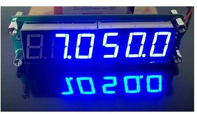 1PC PLJ-6LED-A frequency display component / frequency meter blue