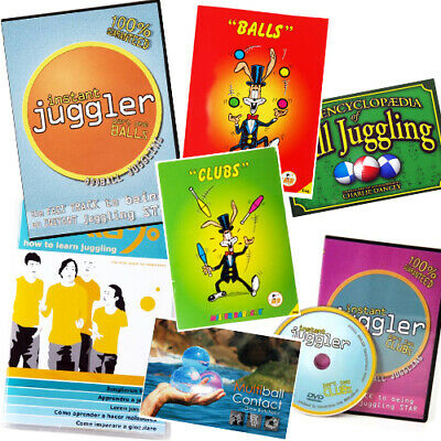 Juggling Ball Media - Instructional Books and DVDs for  Ball and Club Juggling