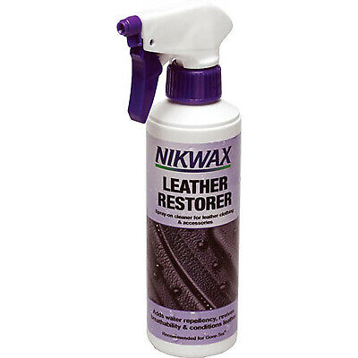 Nikwax 300ml Leather Restorer Waterproofs/Conditions/Restores Motorcycle Leather