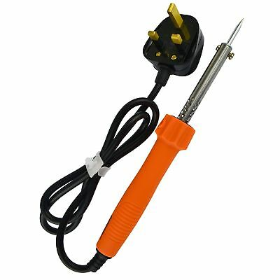 30W Soldering Iron Electric Solder 230v With Copper Tip By BERGEN AT215