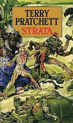 Strata by Pratchett, Terry Paperback Book The Cheap Fast Free Post