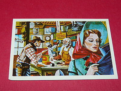 N°217 Magasin General Conquete De L'ouest Williams 1972 Panini Far West Western