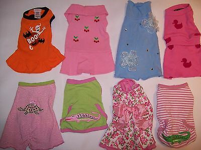 LULU PINK Canine Styles Pet Flys lot NWOT dog clothes XS XXS Retail over $200