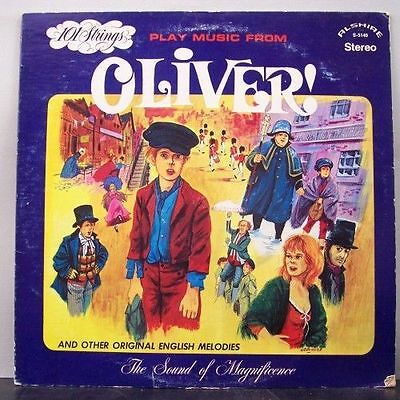 (o) 101 Strings - Play Music From Oliver And Other Original English Melodies