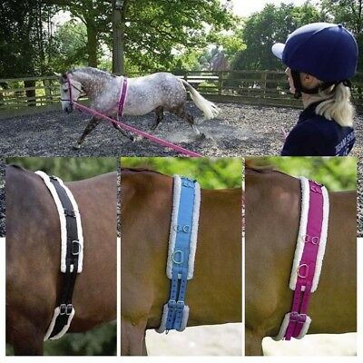 SHIRES LUNGE ROLLER FLEECE PADDING lunging training breaking  ALL SIZES ON SALE