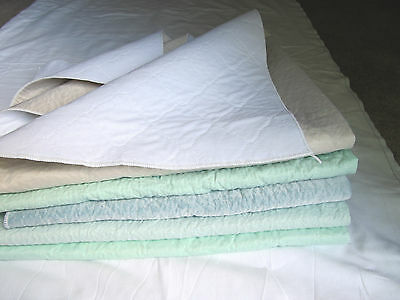 6 washable Hospital Bed Pads, forTraining Dogs, puppy, pee wee pads,mats Grade A