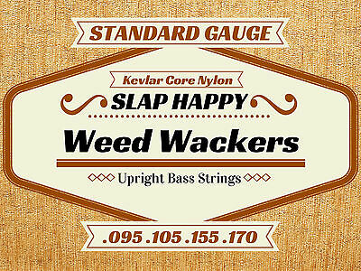 SINGLE STRING Slap Happy Weedwackers Synthetic Gut Upright Double BASS STRINGS