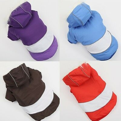 Dog Cat Clothes Pet Apparel Puppy Dog Clothing Winter Warm Coat Hoodie Jacket