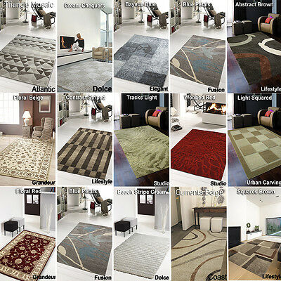 Clearance Rugs -  New - Cheap Rugs Large Medium Soft - Living Room