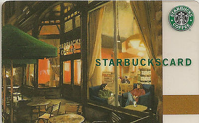 Starbucks Gift Card - Twilight - Vintage 2007 - Evening Memories - Collectable