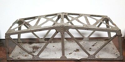 "Vintage / Huge Mar O Scale ""rock Island"" Metal Railway Bridge."