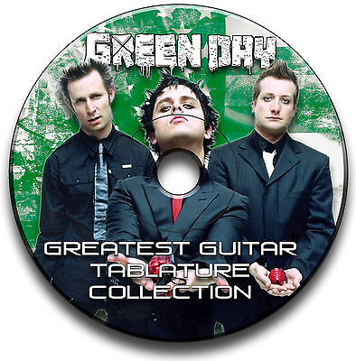 188x GREEN DAY ROCK GUITAR TABS TABLATURE SONG BOOK ANTHOLOGY SOFTWARE CD