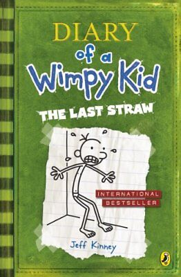 Diary of a Wimpy Kid: The Last Straw (Book 3), Kinney, Jeff Paperback Book The