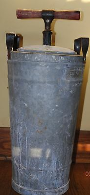 Antique Natkin and Co. Hand Held Fire Extinguisher Tested No. 343199