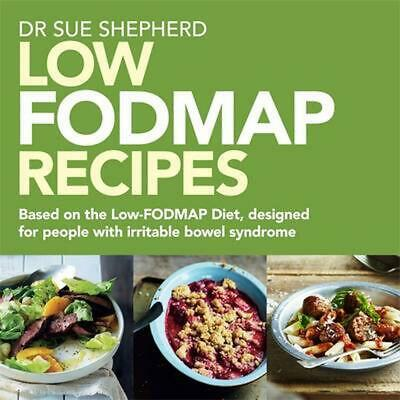 Low Fodmap Recipes by Sue Shepherd Paperback Book Free Shipping!