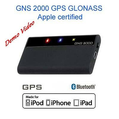 GNS 2000 GPS GLONASS Bluetooth GPS Maus Made for iPhone iPad iPod Android Logger