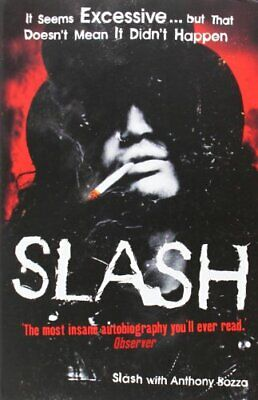 Slash: The Autobiography by Slash Paperback Book The Cheap Fast Free Post