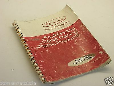 Radar Engineers' Model 420A Under Ground Cable Fault-Finder Operations Manual b4