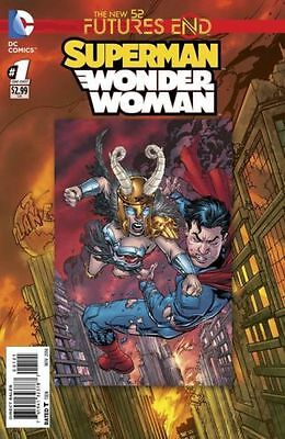 Superman Wonder Woman Futures End  #1   Nm  New  (3D Cover)