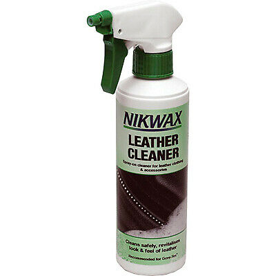 Nikwax Leather Cleaner Suitable For Full Grain Leather - Motorcycle & Equestrian