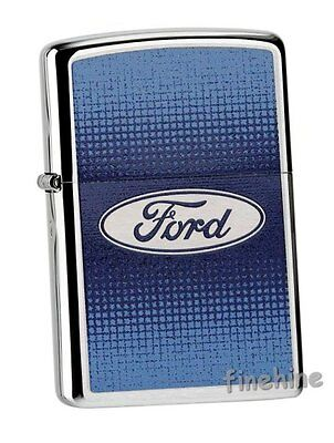 FORD Chrome Brushed ZIPPO Collection 2015 neu+ovp