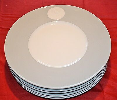 KPM ROYAL BERLIN ARCADIA CHARGER or Chop PLATE 11 3/8 Inch - MINT - Set of 6