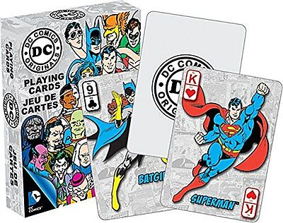 DC Comics Retro set of 52 playing cards (nm)