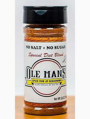 Award Winning! Ole Man's Spice Rub & Seasoning - Special Diet Blend
