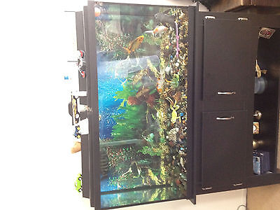 Fish Tank plus Stand Fish included.