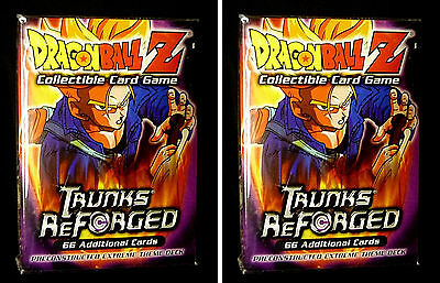 Dragonball Z   2 Trunks Reforged Preconstructed Extreme Theme Decks  2002 Z6