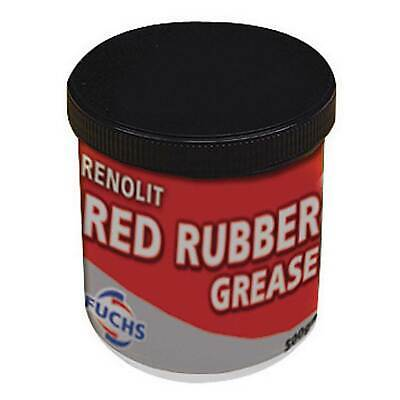 1 x 500g Fuchs Silkolene Renolit Red Rubber Compatible Grease - Brake/Clutch
