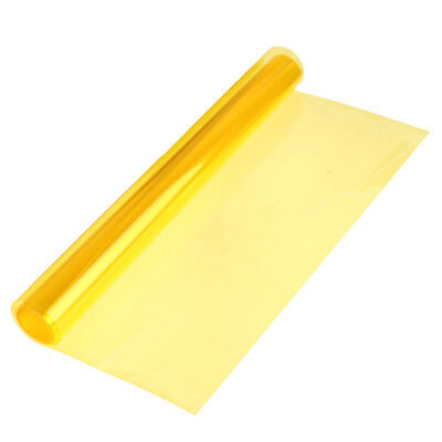 "12"" x 48"" Yellow Car Tint Headlight Taillight Fog Light Vinyl Smoke Film Sheet"