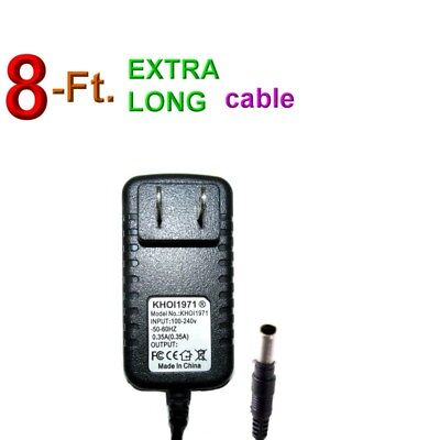 8-FT WALL AC power adapter for D-Link DCS 930L 931L 932L wireless IP CAMERA