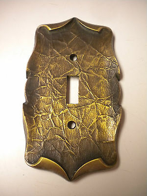 Amerock Carriage House Brass Single Toggle Switch Plate Cover