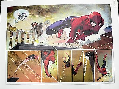 The Amazing Spider-Man #584 Giclee Canvas Signed by Stan Lee COA AP 02/20