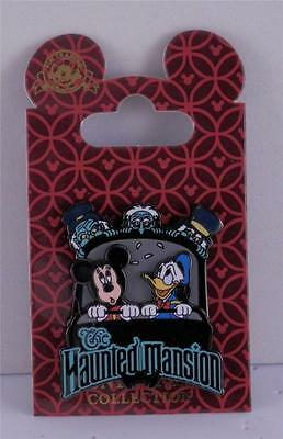Disney Haunted Mansion featuring Mickey Mouse and Donald Duck 3D Trading Pin
