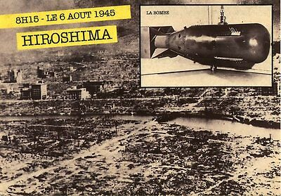 Carte Postale Photo / 8 H15 Le 6 Aout 1945 Hiroshima