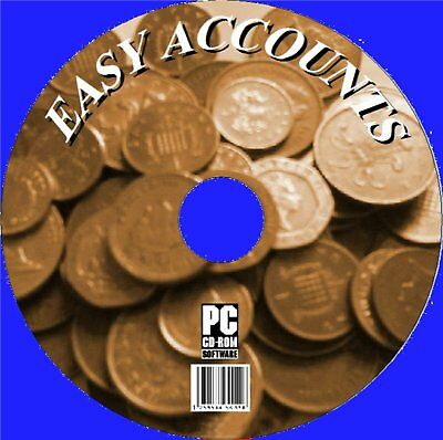 Easy Accounts, Vital Home And Small Business Solutions Cd New