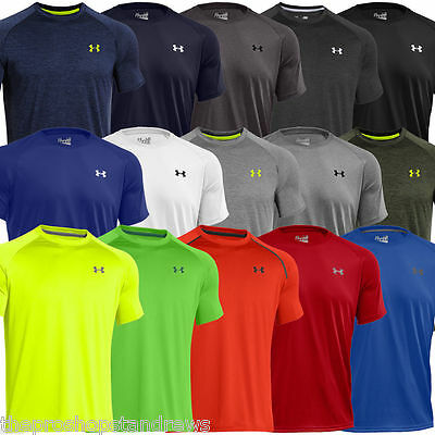 *New* Under Armour Tech Men's Short Sleeve HeatGear Training T-Shirt - 1228539
