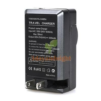 NP-BN1 Battery Charger for SONY Cyber Shot DSC-W350 TX100V W550 W610 WX50 NIGH