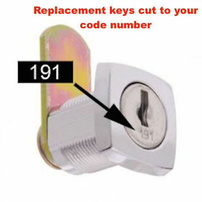 Lost Your Filing Cabinet Keys? Replacement Keys Cut To Code Number-FREE POST!