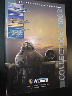 Armour Collection, Die-cast Metal Aircraft 2002