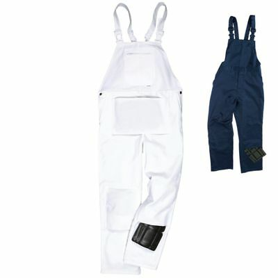 New Cotton Blend Bib And Brace Overalls Painters & Decorators Work