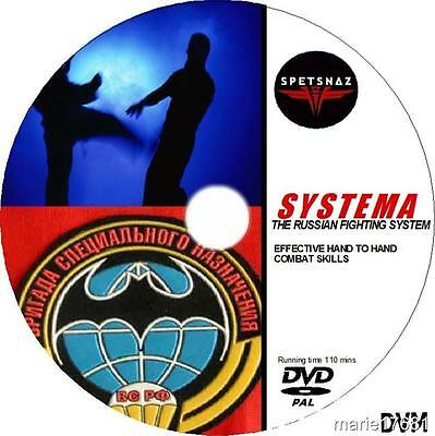 Systema The Complete Russian Martial Arts Guide  Video Dvd Self Defence Tuition