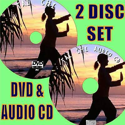 Tai Chi Easy Step By Step Beginners Guide Dvd & Cd Learn To Excercise Mind &body
