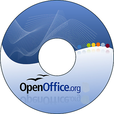 Latest Release Apache Open Office 4.13 DVD Office Software for Windows XP 7 8 10